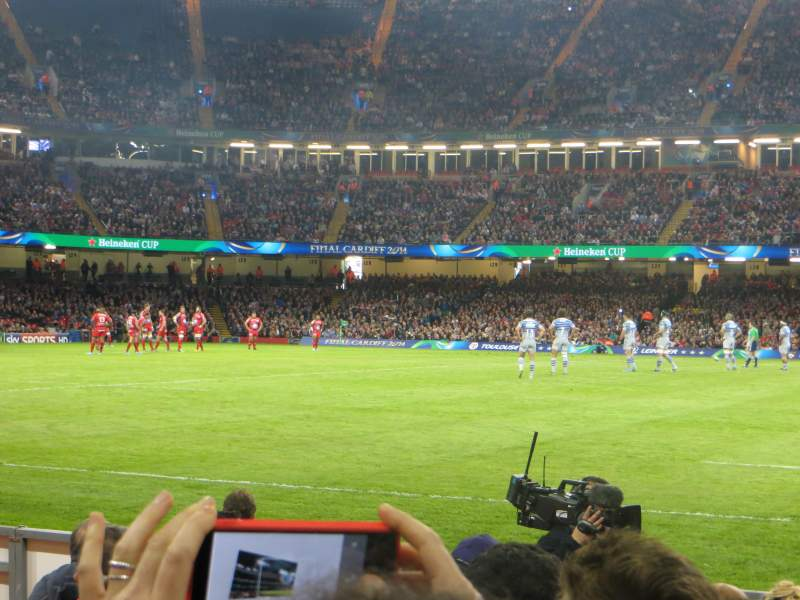 Seating view for Principality Stadium Section L10 Row 7