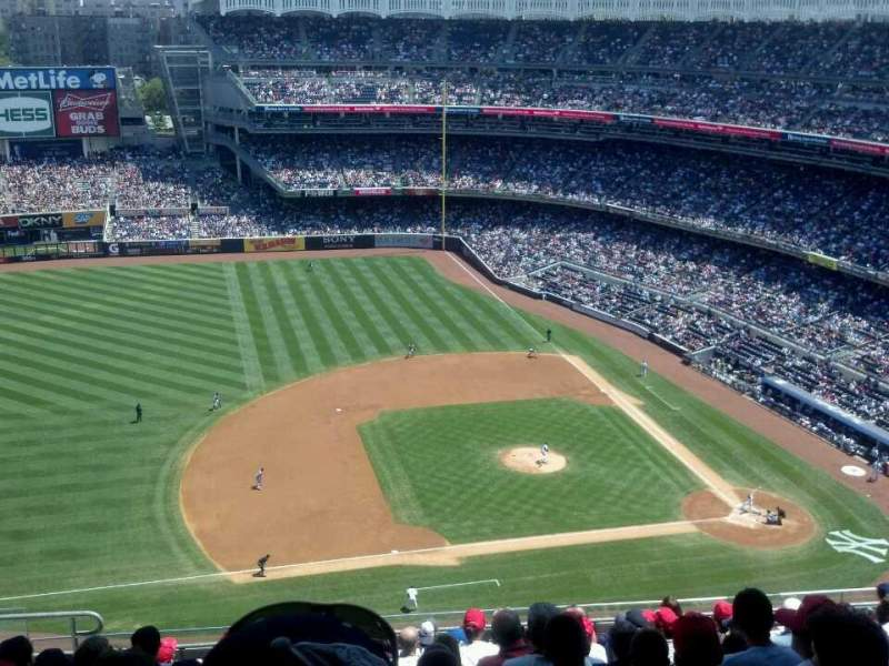 Seating view for Yankee Stadium Section 425 Row 11 Seat 18