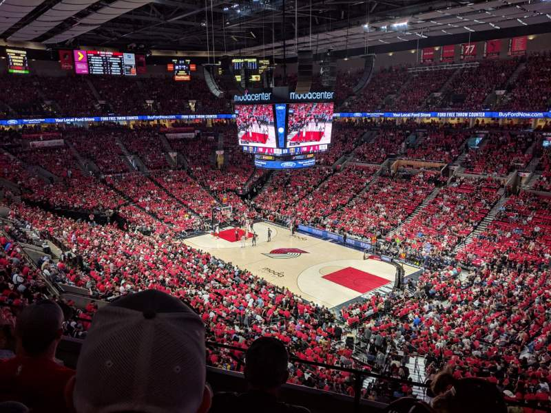 Seating view for Moda Center Section 314 Row C Seat 2