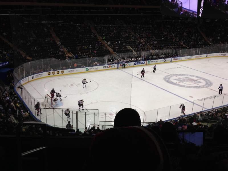 Madison Square Garden: Madison Square Garden, Section 221, Row 5, Seat 1