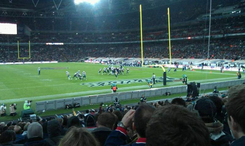 Seating view for Wembley Stadium Section 135 Row 20 Seat 57
