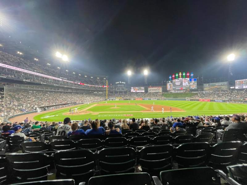 Seating view for Guaranteed Rate Field Section 126 Row 24 Seat 5