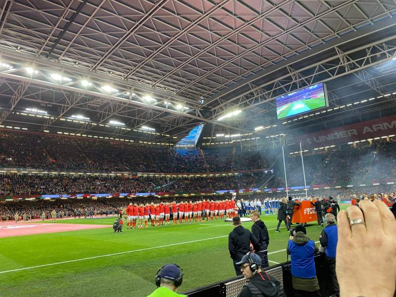 Seating view for Principality Stadium Section L11 Row 2 Seat 21