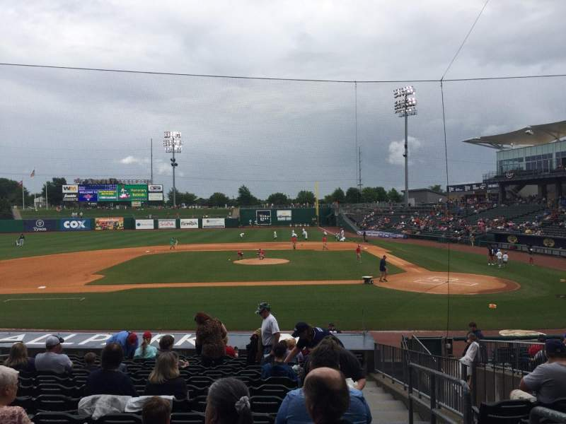 Arvest Ballpark, section: 115, row: S, seat: 1