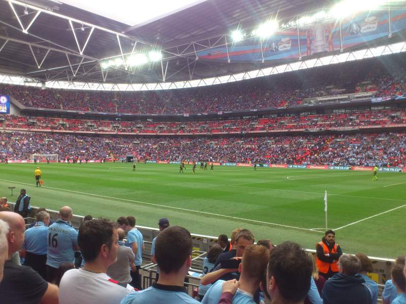 Wembley Stadium, section: 140, row: 8