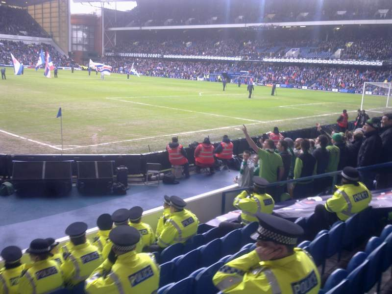 Seating view for Ibrox Park Section Govan West