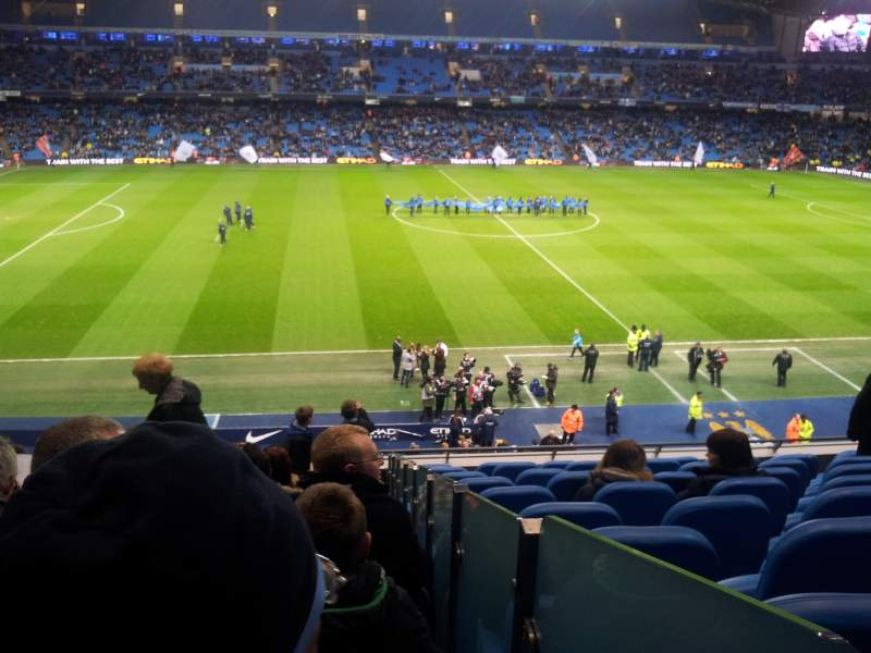 Seating view for Etihad Stadium (Manchester) Section 237 Row K