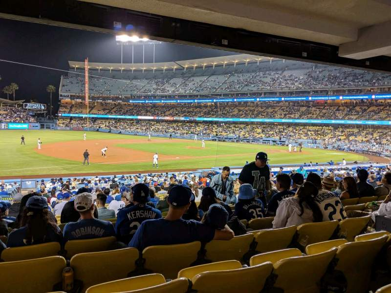 Seating view for Dodger Stadium Section 31FD Row W Seat 7