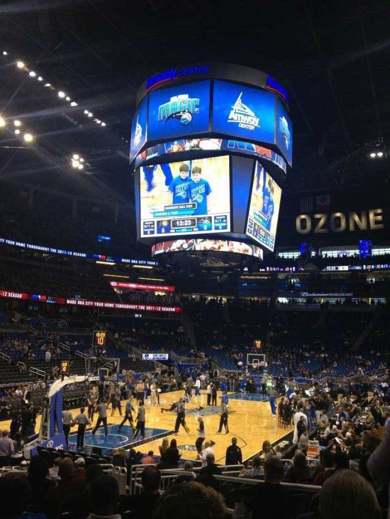 Amway Center Orlando Magic Vs Indiana Pacers Shared By Coneill4