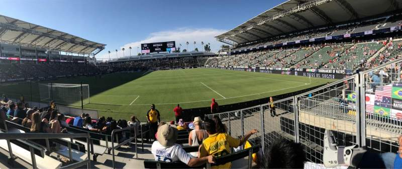 Dignity Health Sports Park, section 141, row J, seat 23 ...