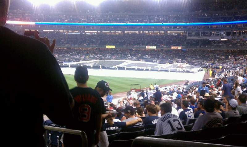 Yankee Stadium, section: 132, row: 26, seat: 1
