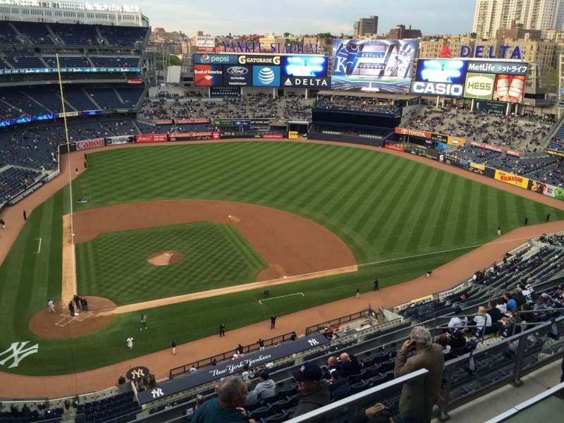 Yankee Stadium, section 419, row 1, seat 15 - New York ...