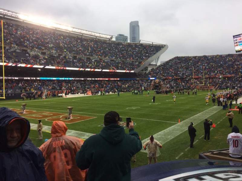 Soldier Field, section: 119, row: 10, seat: 9