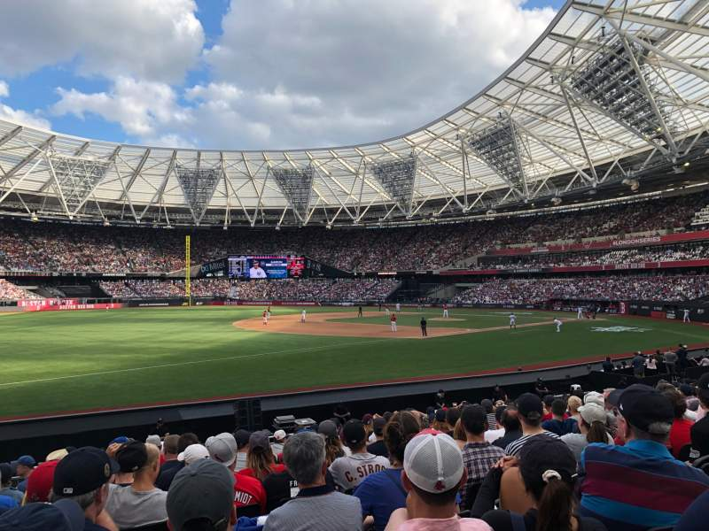 Seating view for London Stadium Section 054 Row 15
