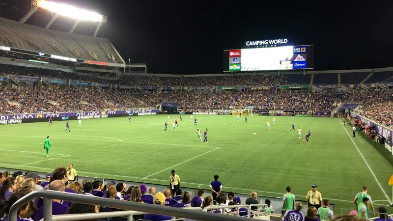 Camping World Stadium, section: 145, row: CC, seat: 9