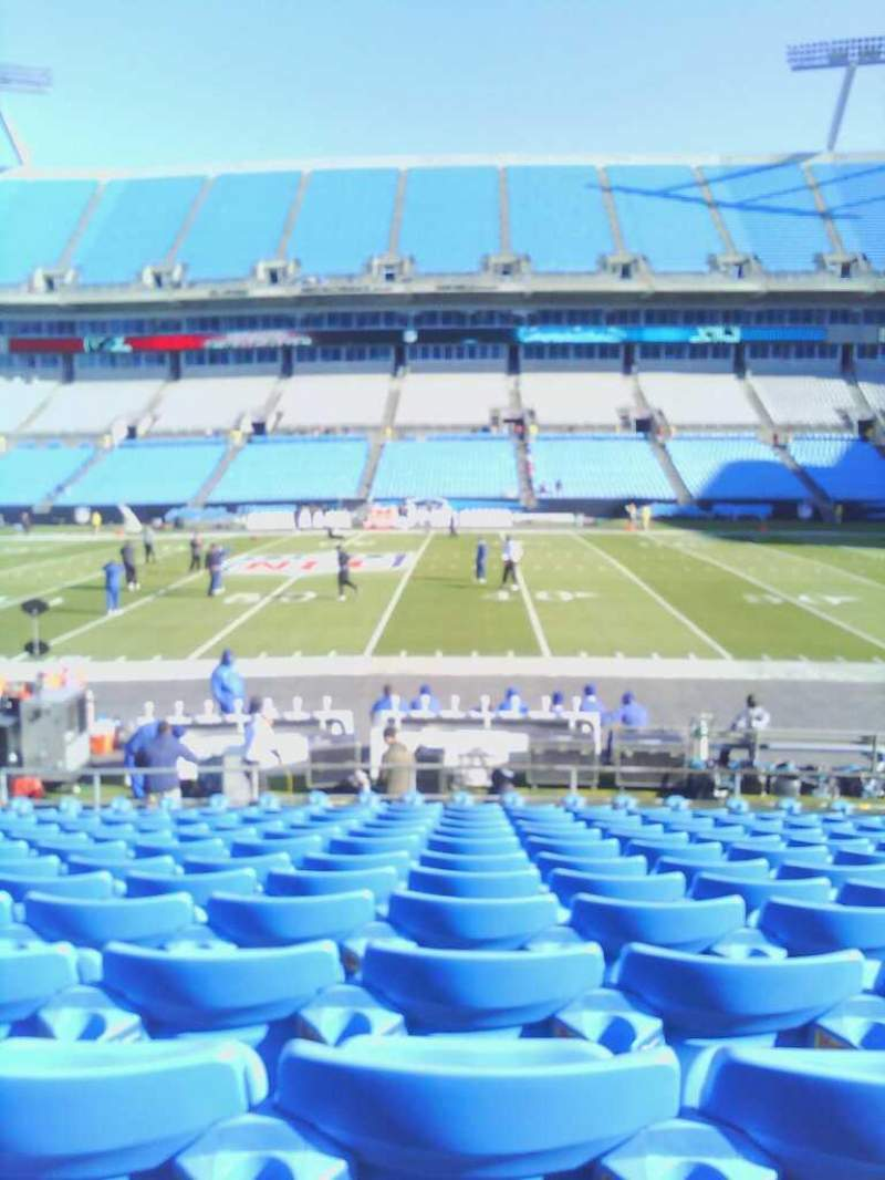 Seating view for Bank of America Stadium Section 131 Row 11 Seat 17