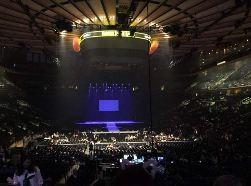 Madison square garden interactive seating chart - Ariana grande concert madison square garden ...