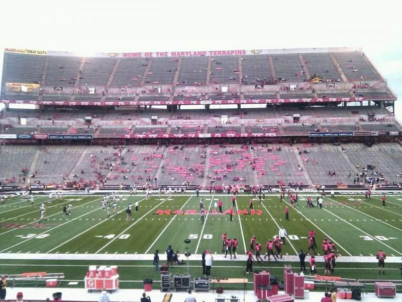 Maryland Stadium, section: 25, row: ff, seat: 14