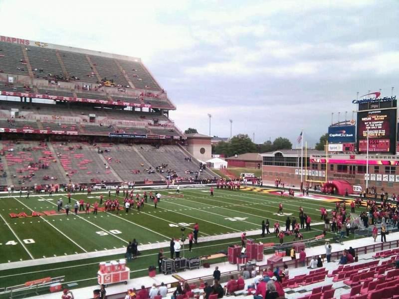 Maryland Stadium, section: 24, row: gg, seat: 4