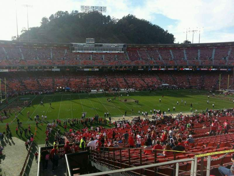 Seating view for Candlestick Park Section 37 Row 48 Seat 21