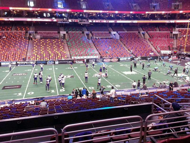 Wells Fargo Center, section: Club Box 24, row: 1, seat: 9