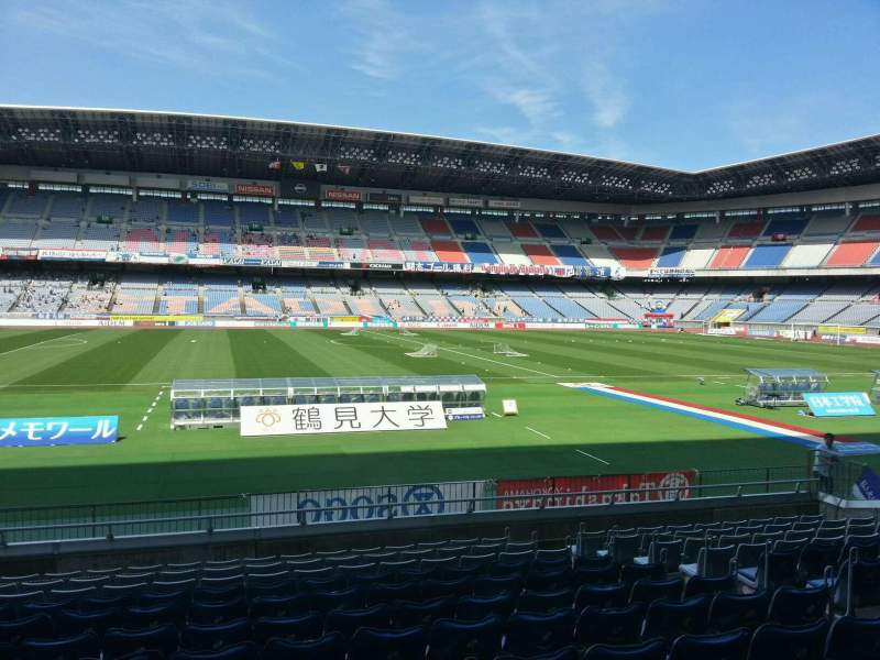Seating view for Nissan Stadium (Yokohama) Section Lower Stand Row 12 Seat 307