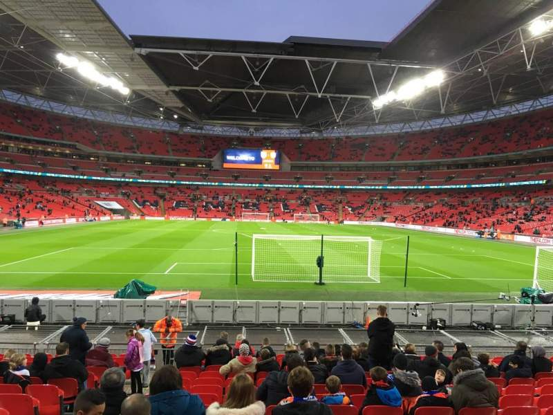 Wembley Stadium, section: 133, row: 16, seat: 10