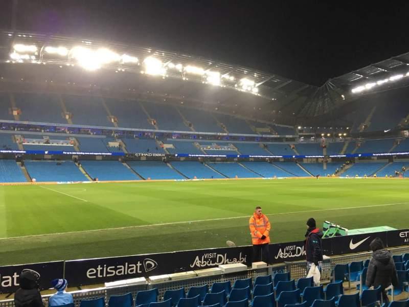 Etihad Stadium (Manchester), section: 131, row: G, seat: 810