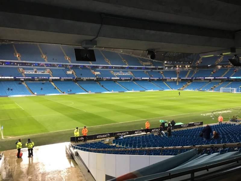 Etihad Stadium (Manchester), section: 131, row: Cc, seat: 839