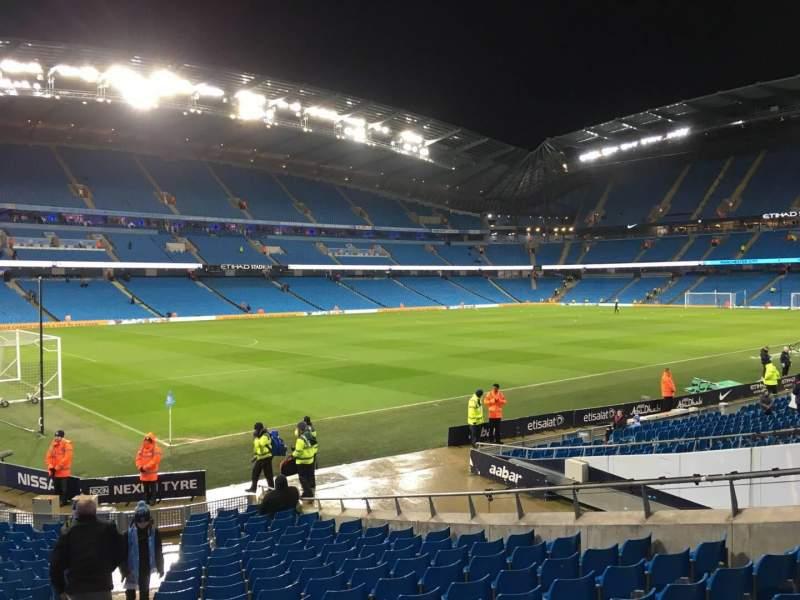 Etihad Stadium (Manchester), section: 132, row: T, seat: 855