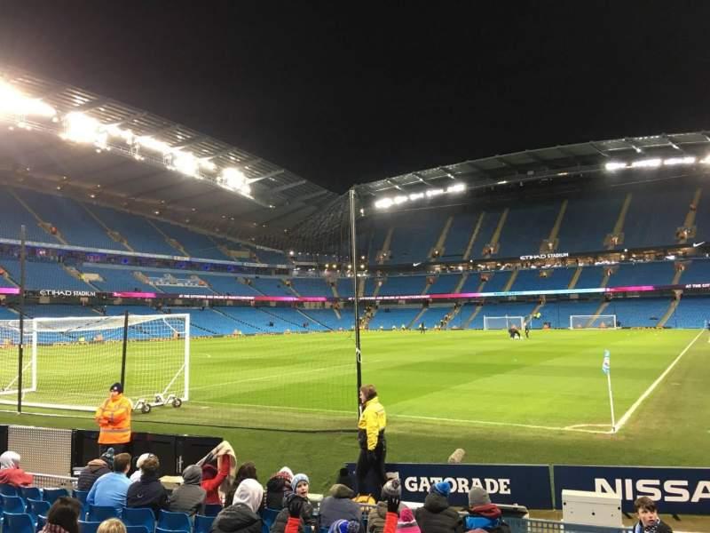 Etihad Stadium (Manchester), section: 134, row: G, seat: 932