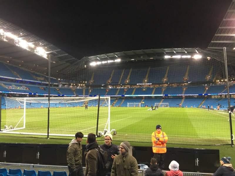 Etihad Stadium (Manchester), section: 135, row: E, seat: 949
