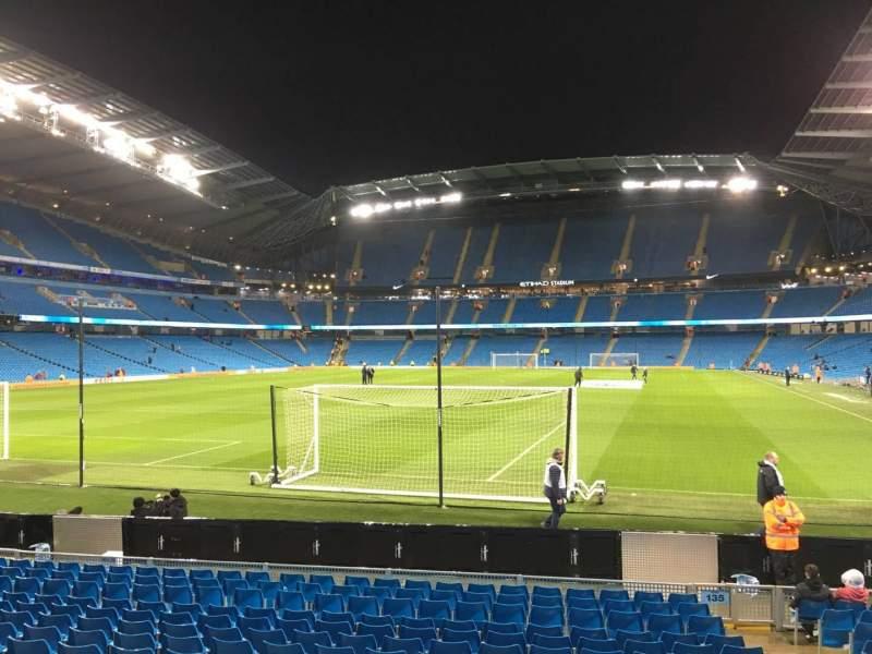 Etihad Stadium (Manchester), section: 135, row: N, seat: 965