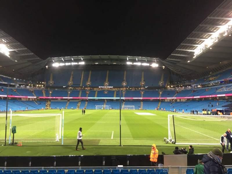 Etihad Stadium (Manchester), section: 136, row: N, seat: 1000