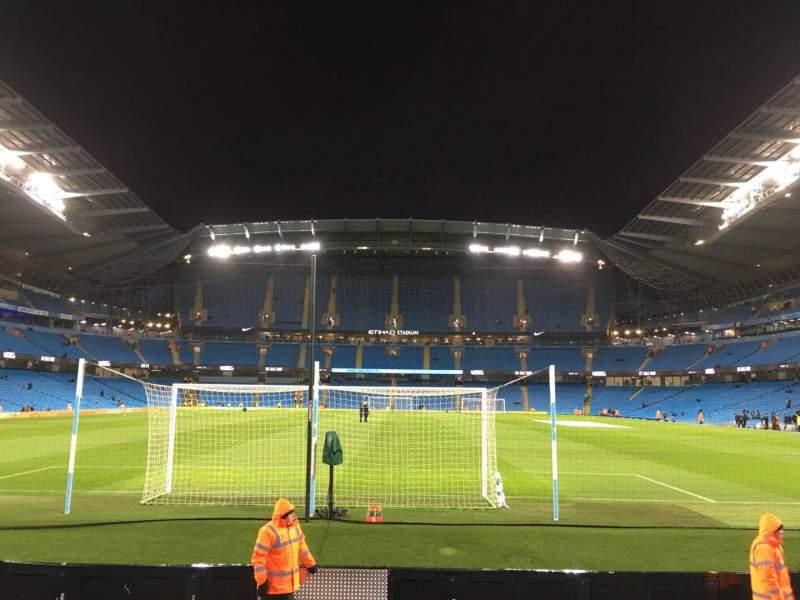 Etihad Stadium (Manchester), section: 137, row: G, seat: 1015