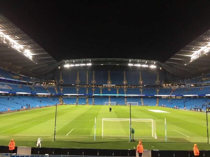 Etihad Stadium (Manchester), section: 137, row: X, seat: 1030