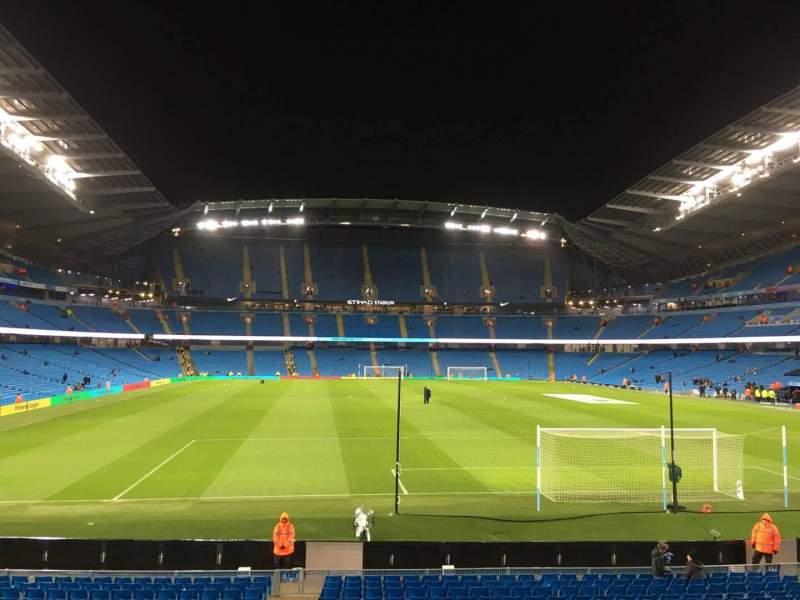 Etihad Stadium (Manchester), section: 138, row: X, seat: 1050