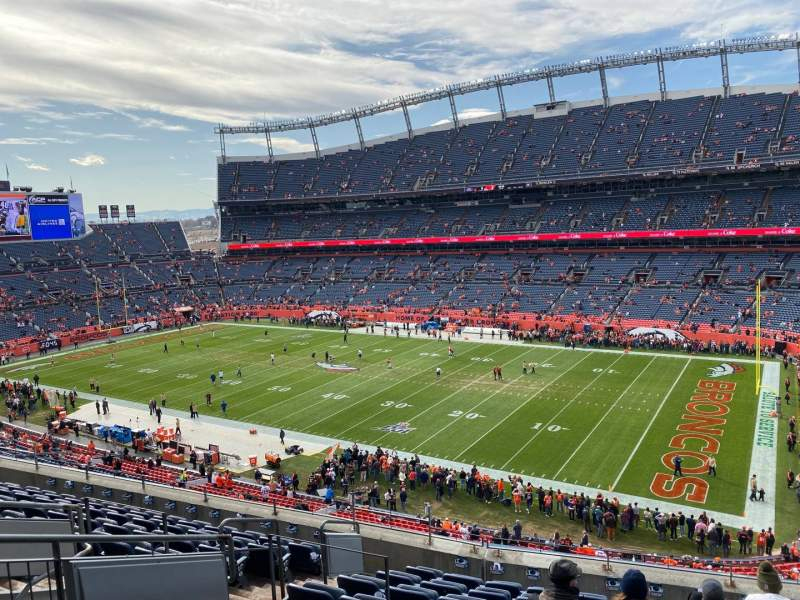 Seating view for Empower Field at Mile High Stadium Section 331 Row 10 Seat 10
