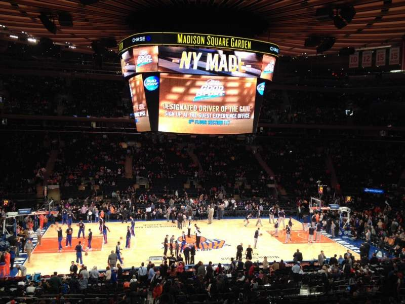 Seating view for Madison Square Garden Section Suite 45 Seat 5