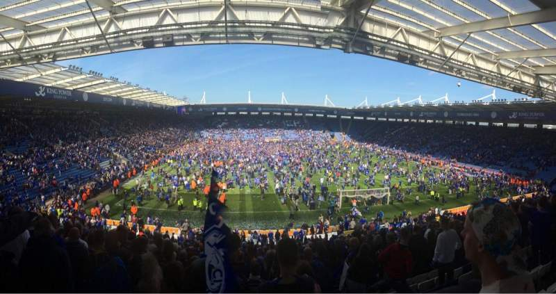 Seating view for King Power Stadium Section SK3 Row FF Seat 97