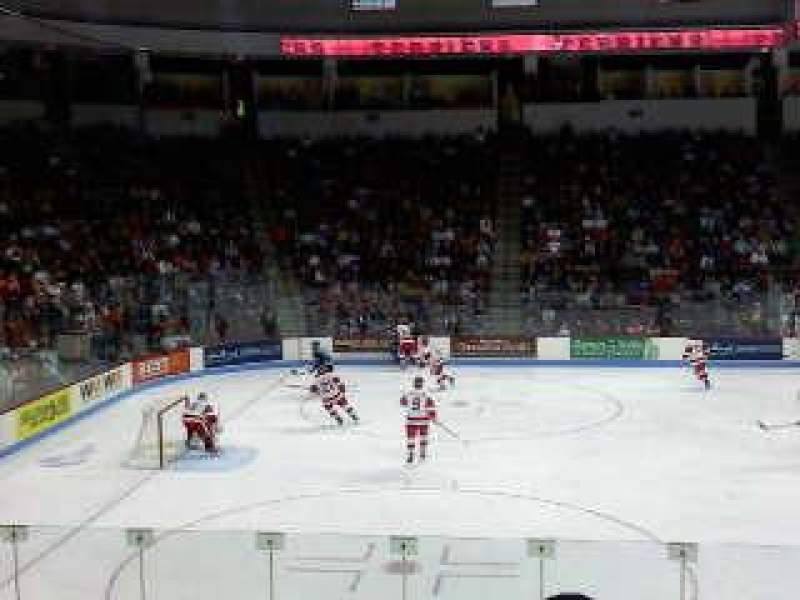 Seating view for Agganis Arena Section 104 Row K Seat 22