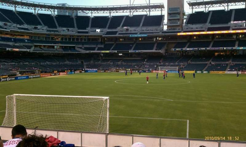PETCO Park, section: 137, row: 4, seat: 5
