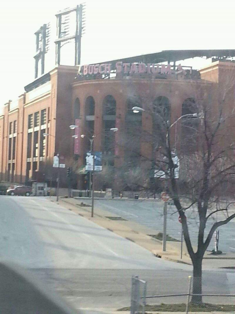 Busch Stadium, section: Outside