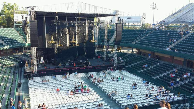 Volvo Car Stadium Section 216 Row J The Lumineers Tour
