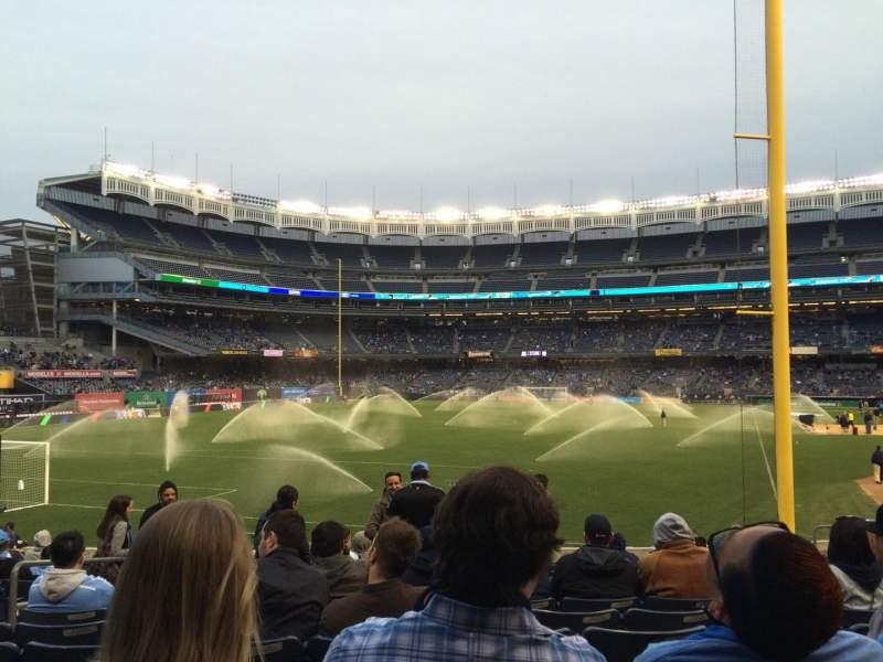 Yankee Stadium, section: 132, row: 124, seat: 17