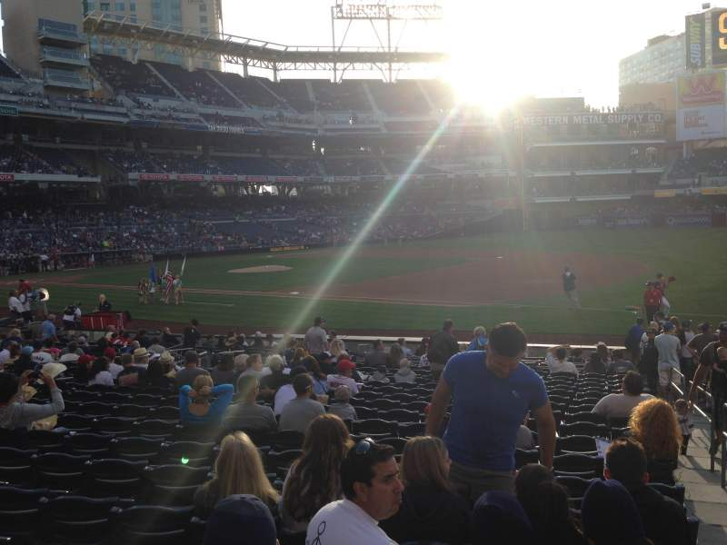 PETCO Park, section: 113, row: 22, seat: 18