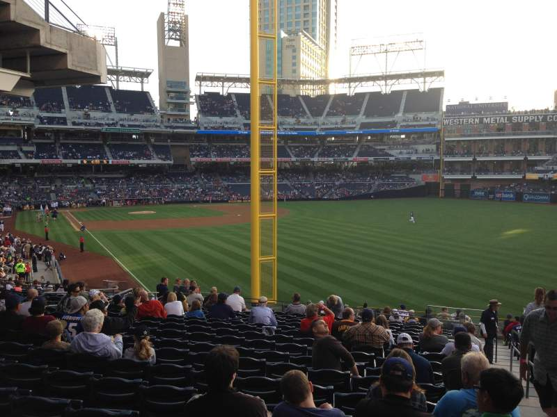 PETCO Park, section: 125, row: 43, seat: 18
