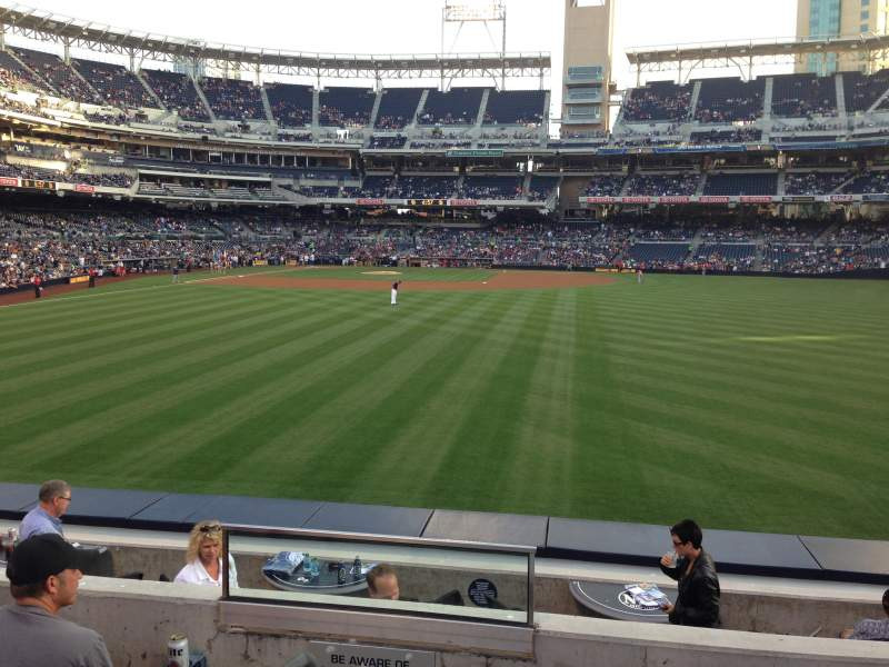 PETCO Park, section: 135, row: 4, seat: 1