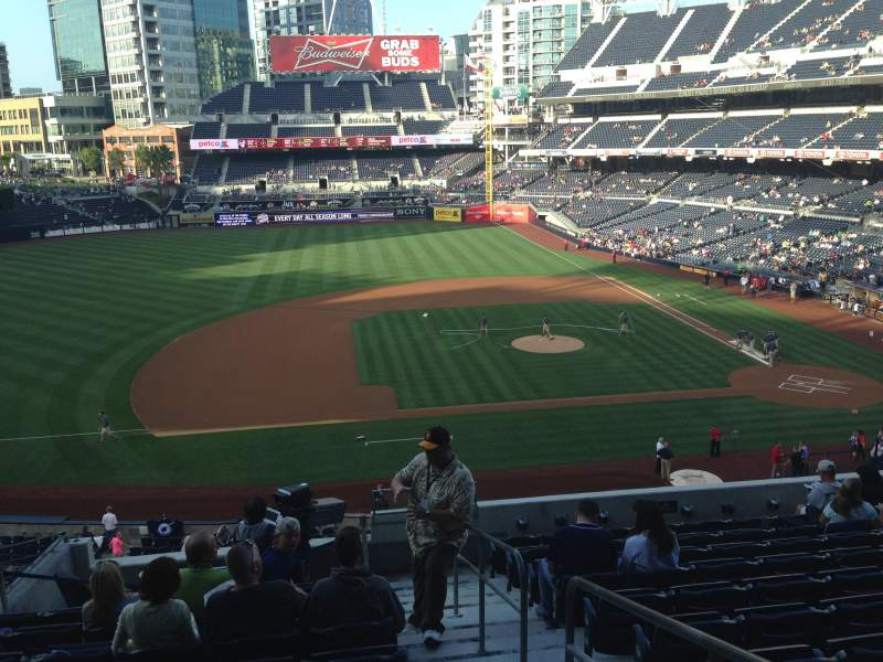 PETCO Park, section: 210, row: 11, seat: 1