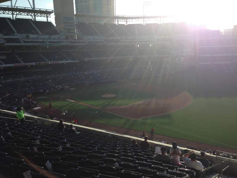 PETCO Park, section: 217, row: 13, seat: 1